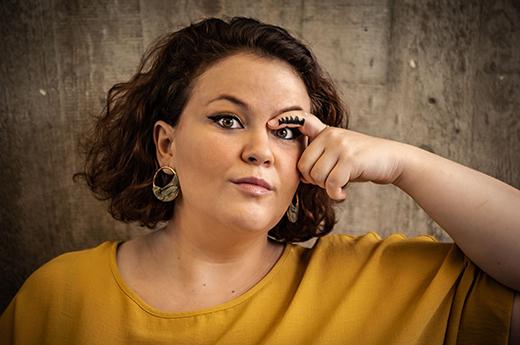 Die Sopranistin Andrea Conangla ist in O' Karakino als Schäferin zu hören © Oliver Röckle