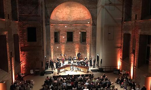 Konzert Akamus und DoubleBeats, St. Elisabeth-Kirche, 2019 © Kultur Büro Elisabeth