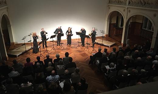 Konzert Akademie für Alte Musik, Villa Elisabeth, 2020 © Akamus