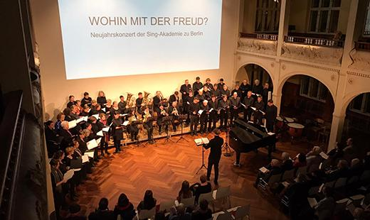 Sing-Akademie zu Berlin Oratorio Konzert, Villa Elisabeth, 2020
