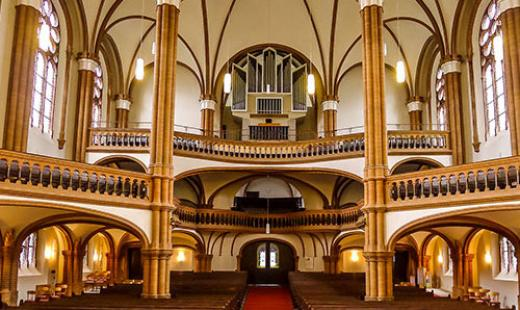 Gethsemanekirche Altarraum (Foto: Ulrike Parnow)
