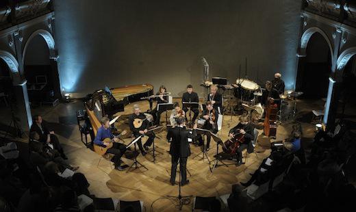 Konzert des Nieuw Ensembles , Villa Elisabeth 2011 (Foto: Kai Bienert)