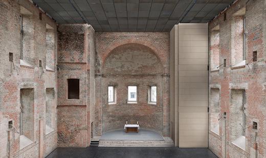 St. Elisabeth: Visualisierung Apsisturm (Bauzeit 2014/15)