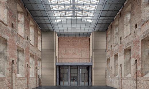 St. Elisabeth: Visualisierung Orgelempore (Bauzeit 2011-15)