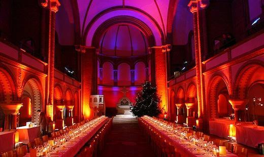 Firmenweihnachtsfeier, St. Johannes-Evangelist