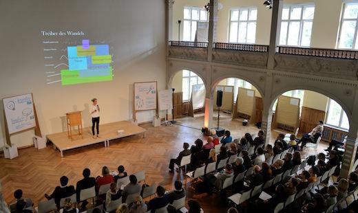 Tagung der Deutschen Kinder- und Jugendstiftung, Villa Elisabeth, 2014 © Kultur Büro Elisabeth