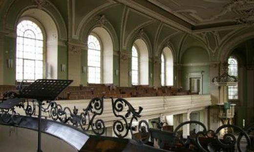 Blick von der Orgelempore
