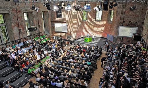 Schulpreisverleihung durch Bundeskanzlerin Angela Merkel, St. Elisabeth 2011