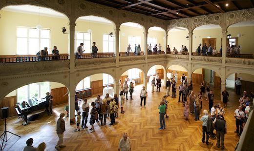 Wiedereröffnung der Villa Elisabeth nach der Sanierung
