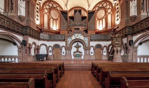 Passionskirche, Altarraum