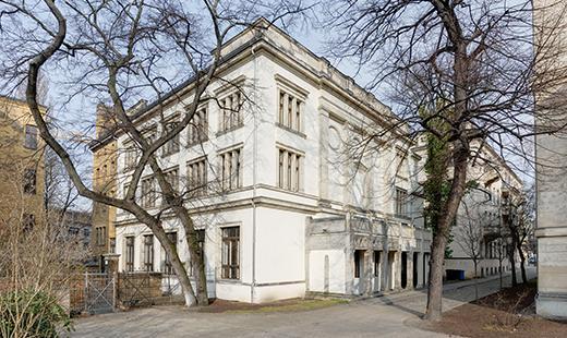 Villa Elisabeth Außenansicht © Stefan Melchior