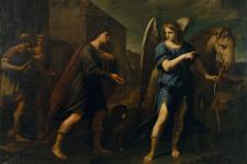 Andrea Vaccaro - Tobias trifft den Erzengel Raphael