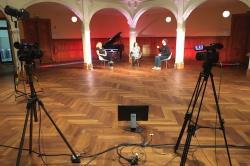 Villa Elisabeth, Setting Videokonferenz